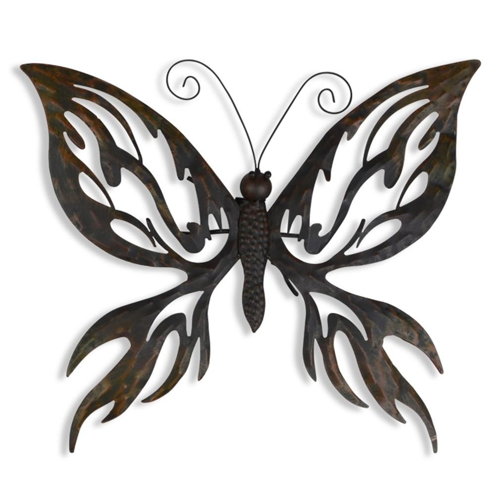 Ornament Wall Art Design | House Interior And Furniture Inside Large Metal Butterfly Wall Art (Image 15 of 20)