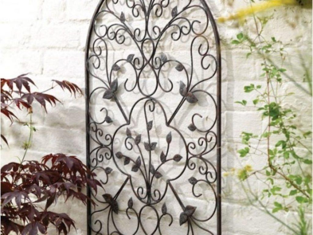 Outdoor Iron Wall Decor For Fashionable Accessories Home Intended For Iron Gate Wall Art (View 18 of 20)