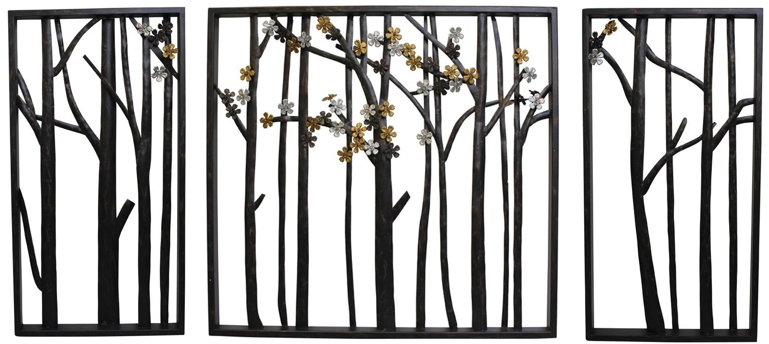 Outdoor Metal Wall Decor | Roselawnlutheran Intended For Wrought Iron Garden Wall Art (Image 9 of 20)