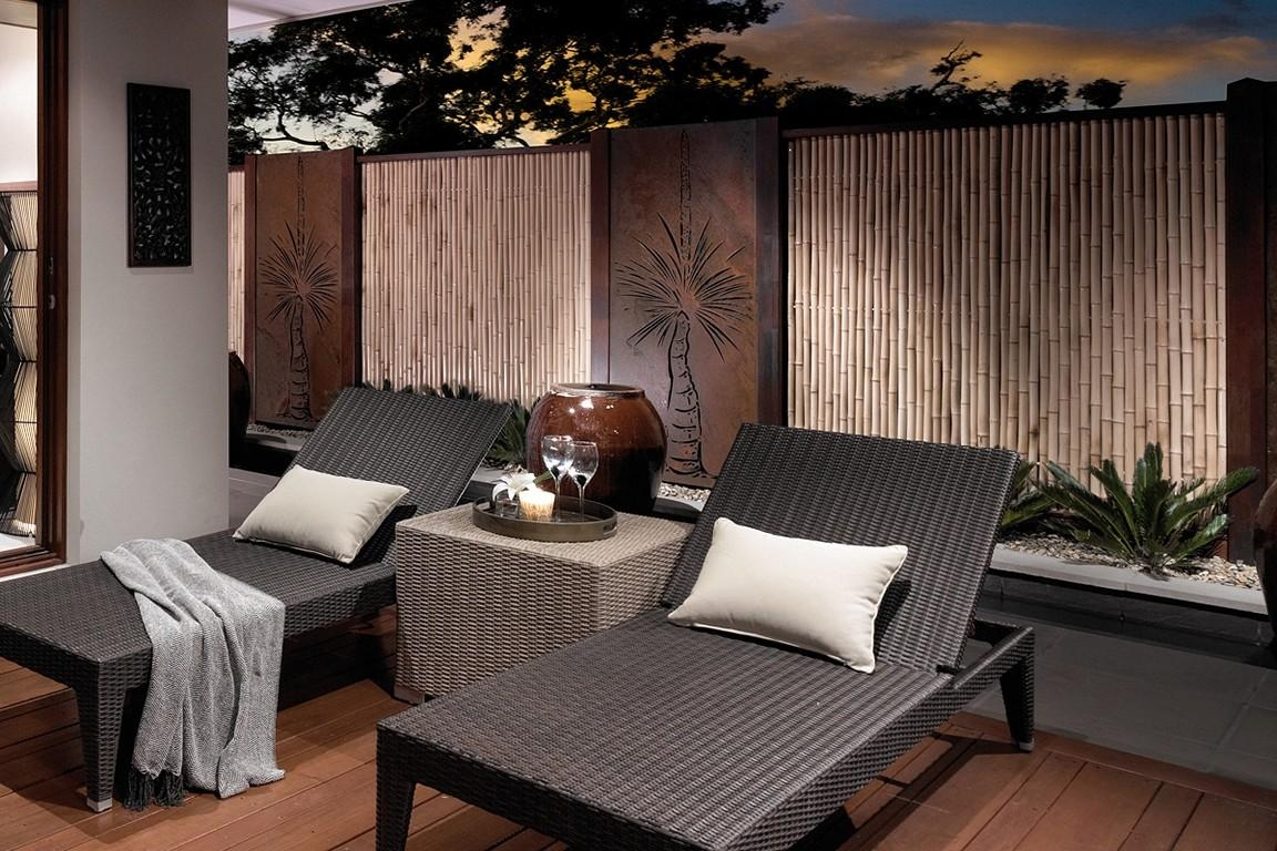 Outdoor Wall Art For Beautiful Yet Attractive Exterior Design Regarding Contemporary Outdoor Wall Art (View 8 of 20)