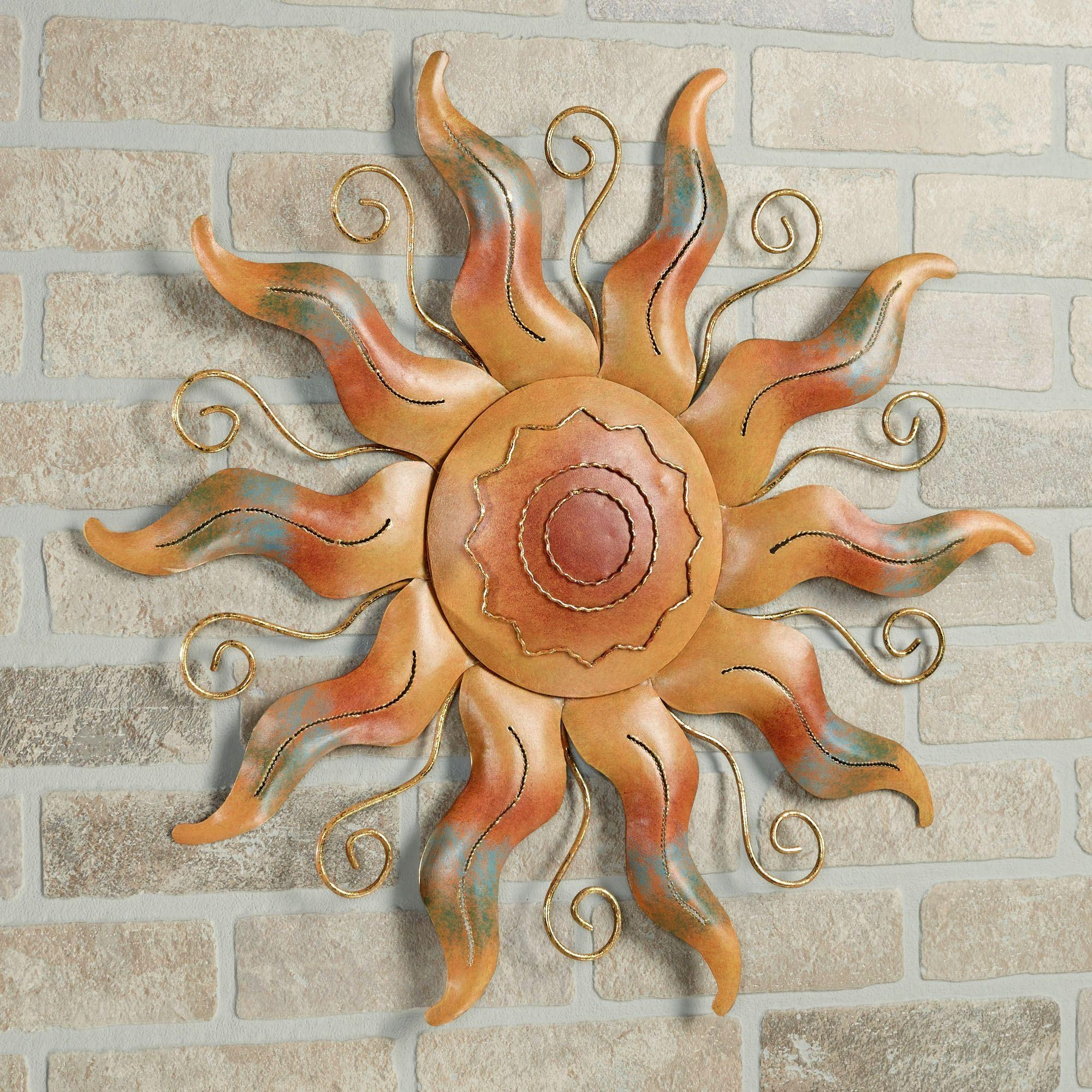 Outdoor Wall Sculptures, Outdoor Wall Art | Touch Of Class Inside Seaside Metal Wall Art (Image 12 of 20)