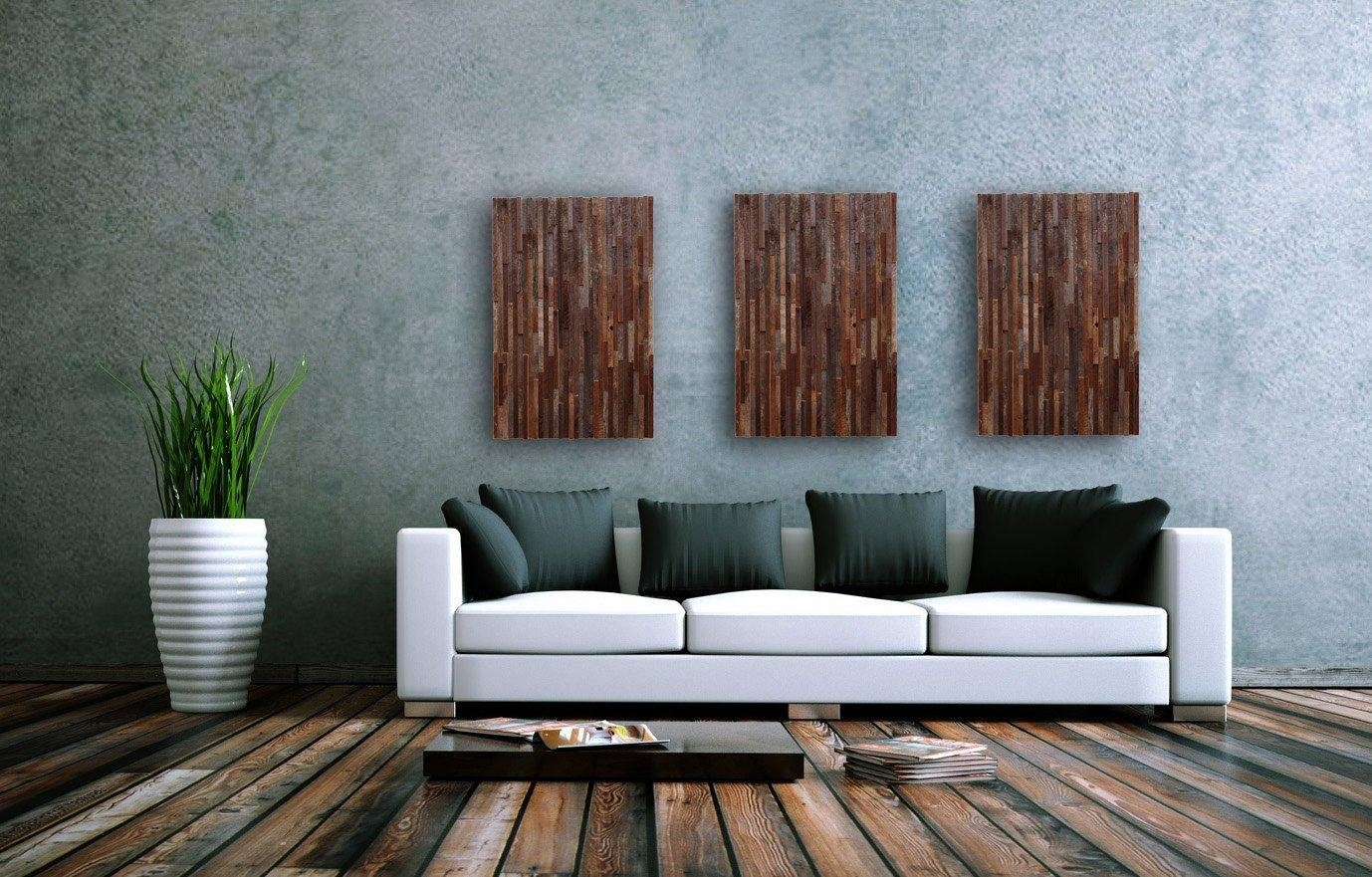 Outstanding Reclaimed Wood Wall Art – Style Motivation Within Wood Wall Art (Image 9 of 20)