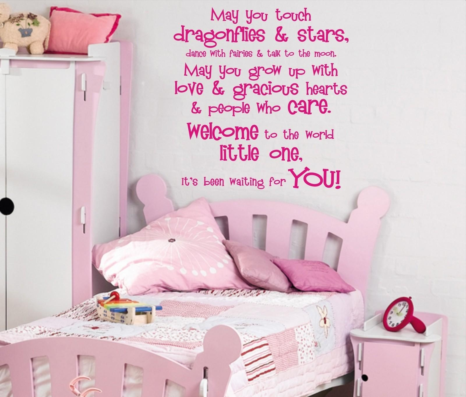 Outstanding Wall Art For Teenage Girl Also Home Decor Kids Room With Little Girl Wall Art (Image 11 of 20)