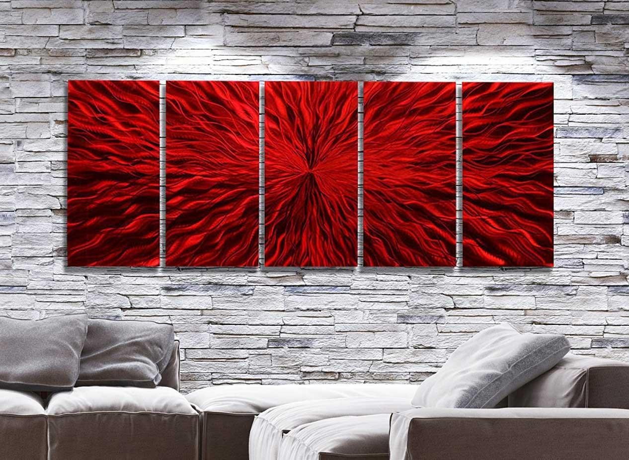 Featured Image of Oversized Metal Wall Art