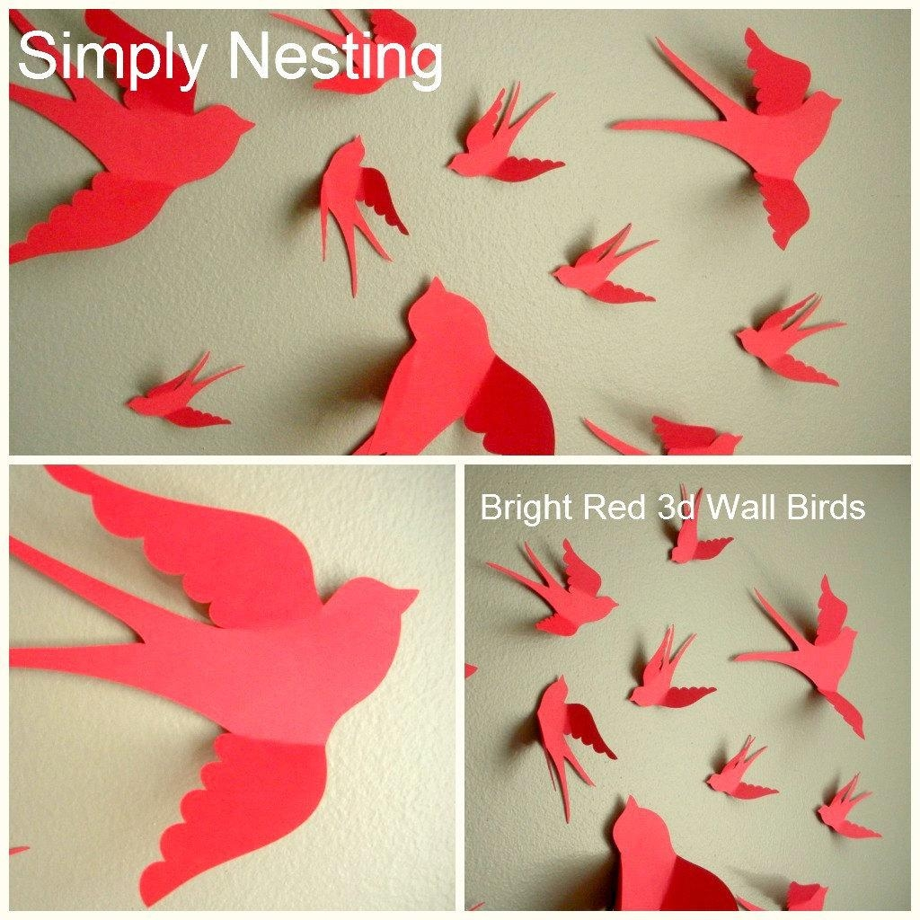 Paper Wall Art – Great Home Design References | H.u.c (Image 15 of 20)