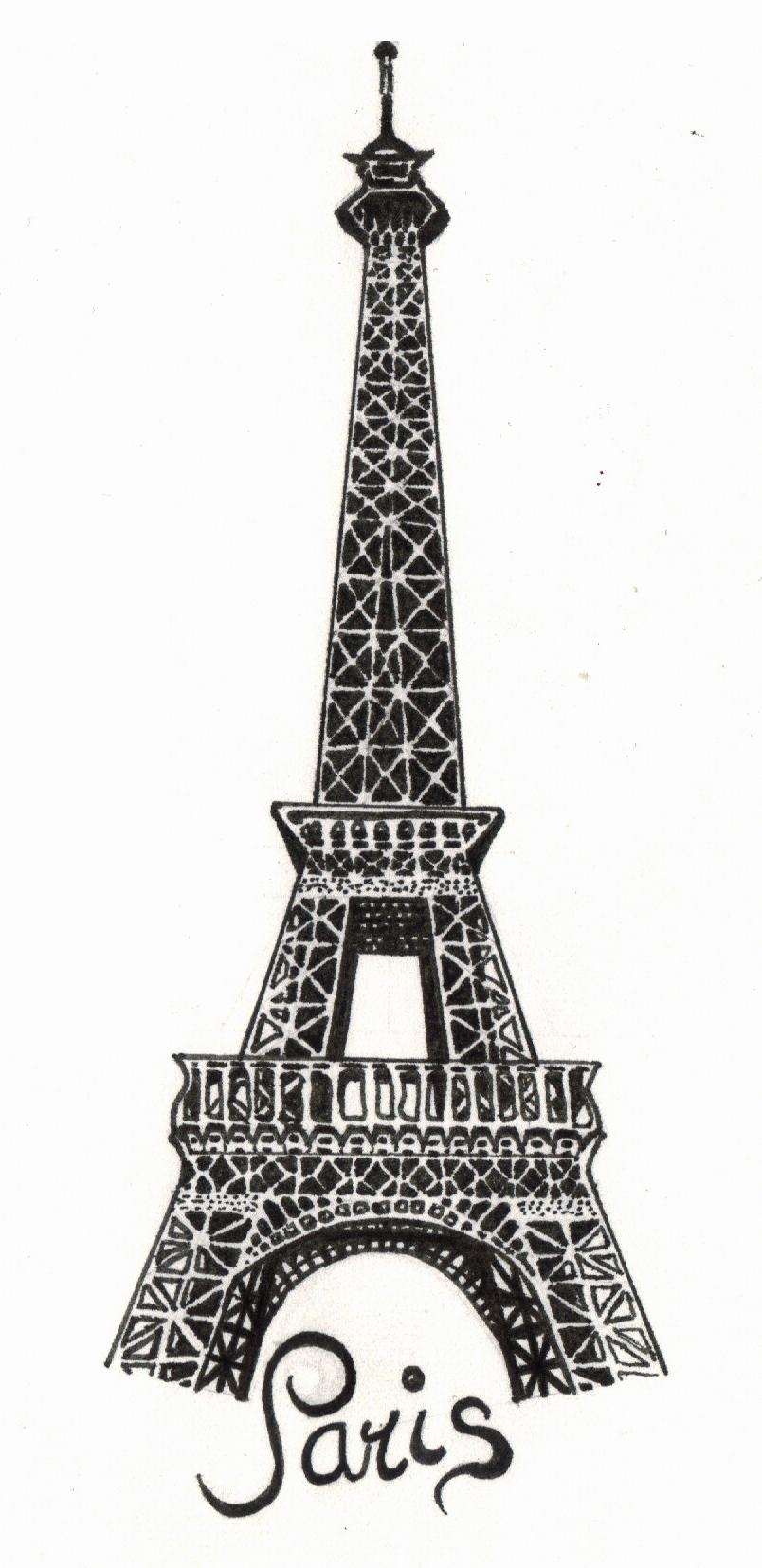 Paris – The Eiffel Towerthe Snow White On Deviantart Within Eiffel Tower Metal Wall Art (View 9 of 20)