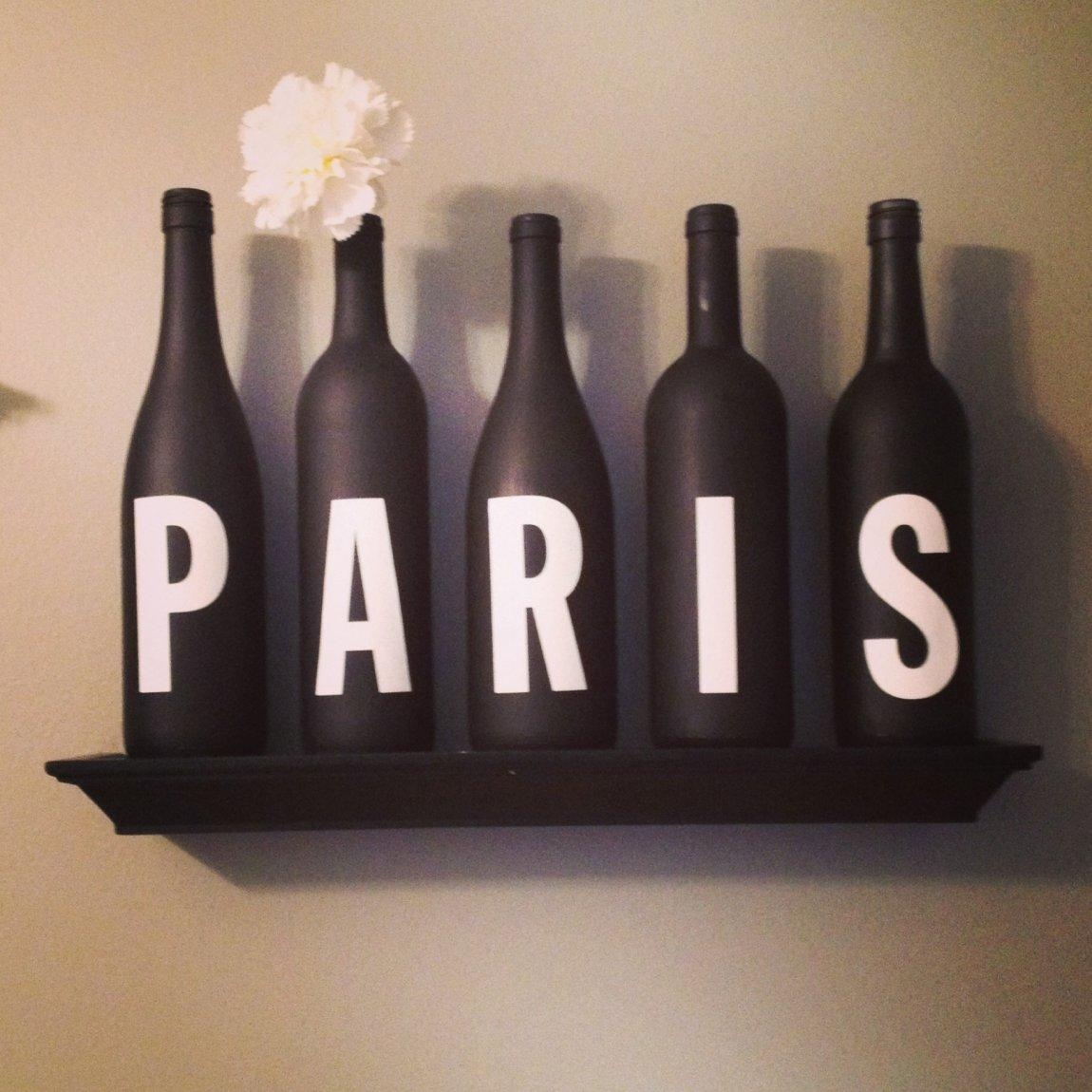 20 ideas of paris themed stickers wall art ideas for Room decor ideas paris