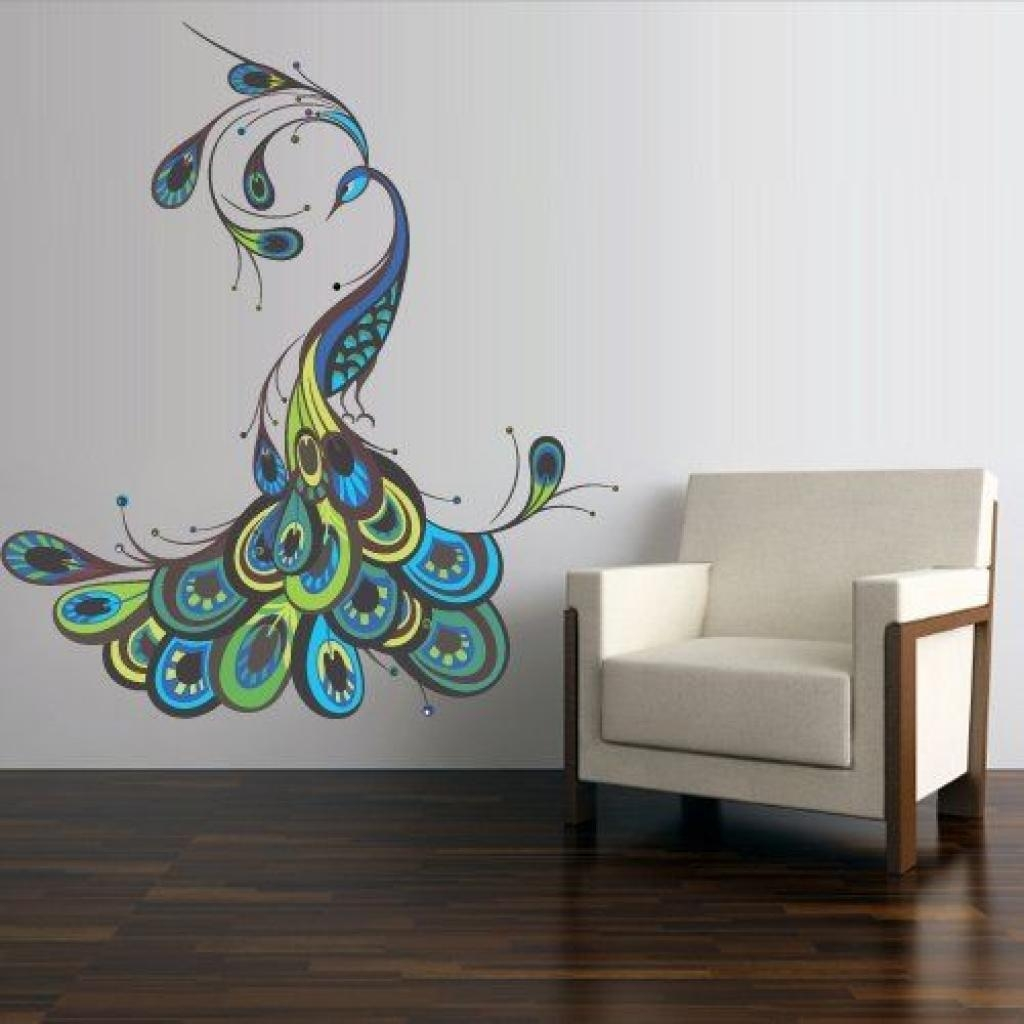 Peacock Feathers, Peacock Wall Art And Peacock Decor On Pinterest In Metal Peacock Wall Art (View 20 of 20)