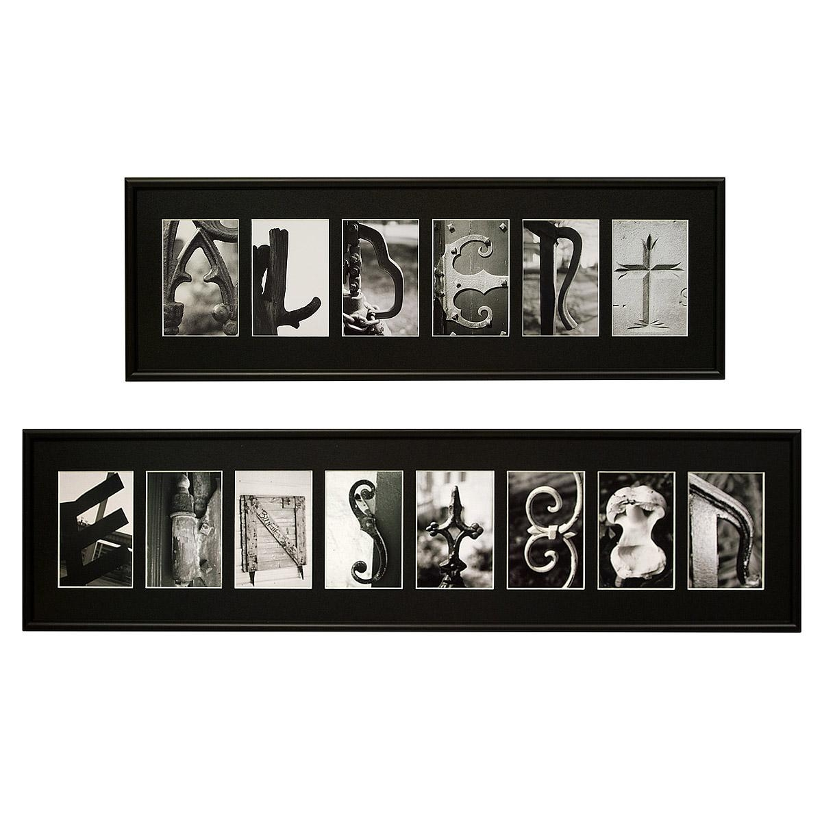 Personalized Last Name Wall Art Fancy Wall Art Decals On Framed Regarding Last Name Framed Wall Art (View 2 of 20)