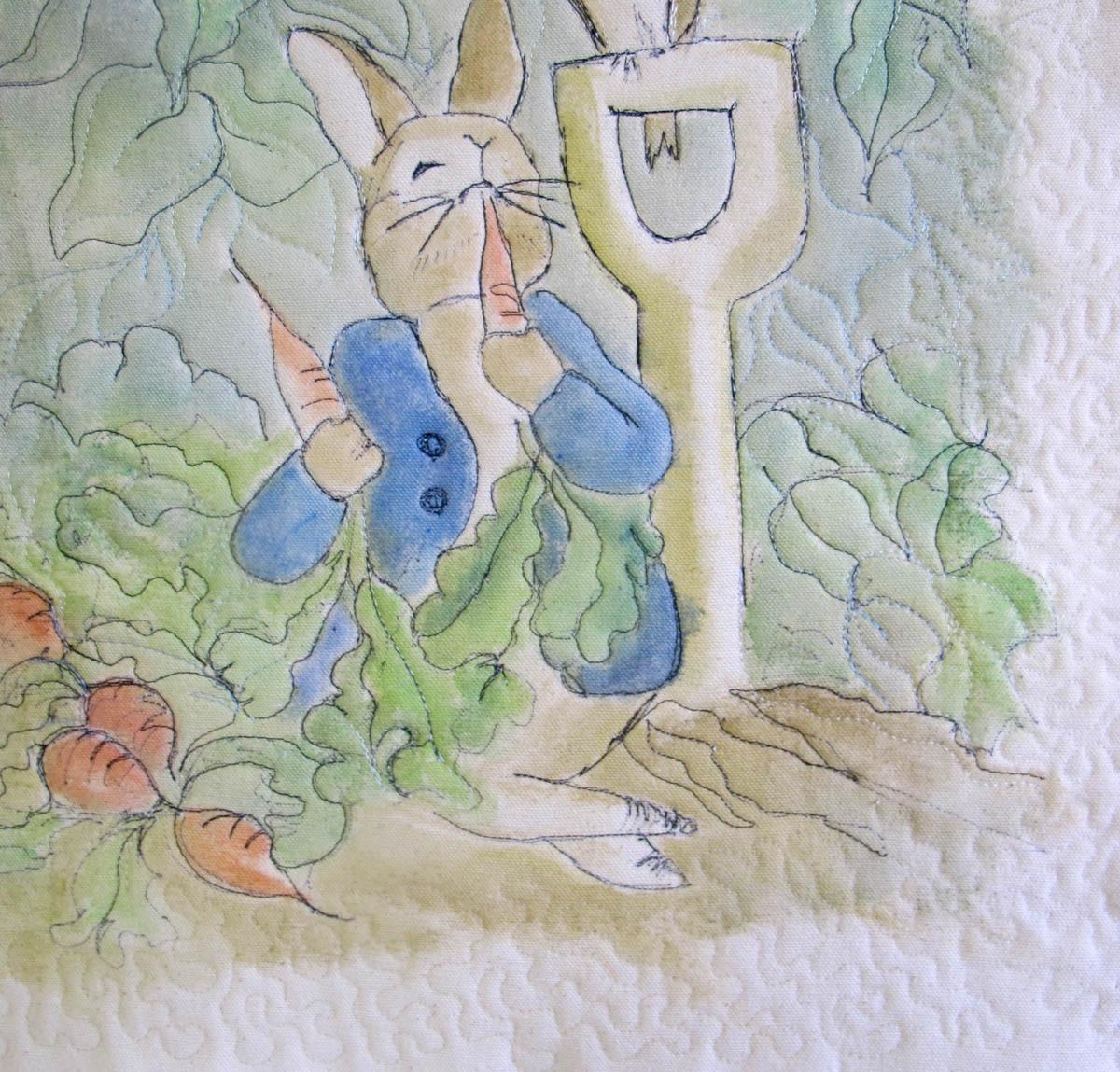 Peter Rabbit Wall Hanging | Weallsew Inside Peter Rabbit Wall Art (View 16 of 20)