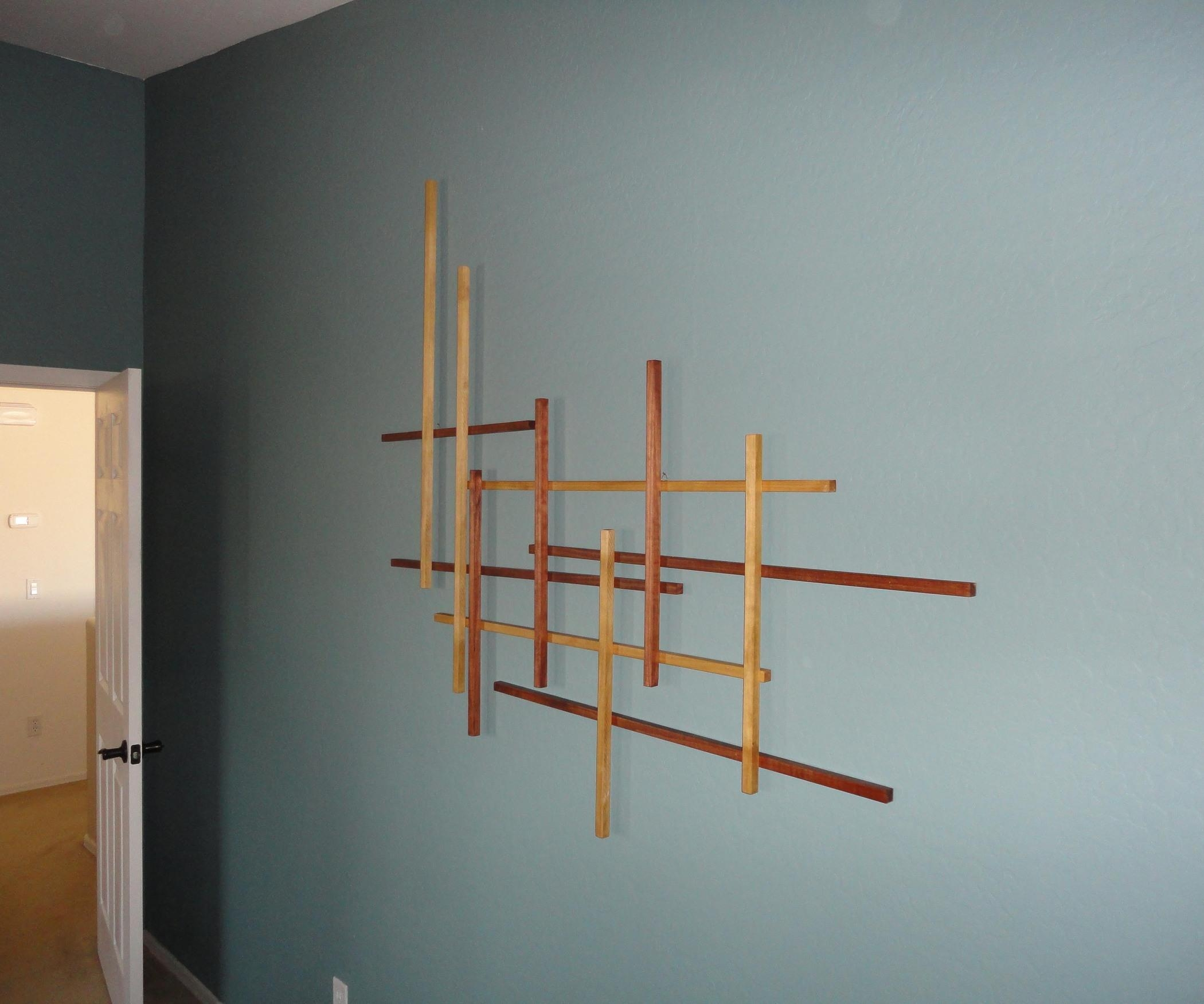 "Phi"" Wall Art: 6 Steps (With Pictures) Pertaining To Homemade Wall Art (View 4 of 20)"