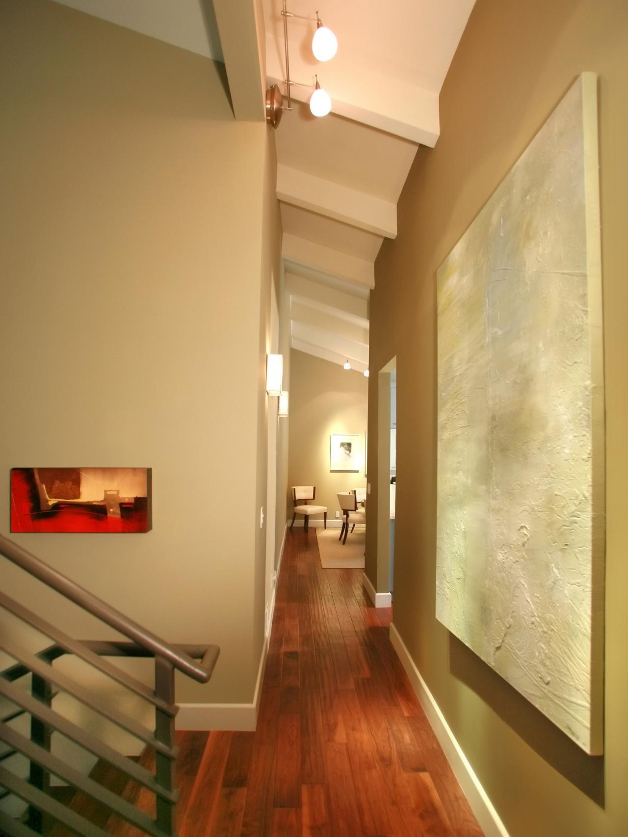 Photos Hgtv Contemporary Hallway With Vibrant Wall Art ~ Arafen In Vibrant Wall Art (Image 16 of 20)