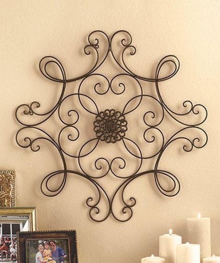 Picture Of Diy Faux Wrought Iron Wall Art Wrought Iron Wall Art For Faux Wrought Iron Wall Art (View 10 of 20)