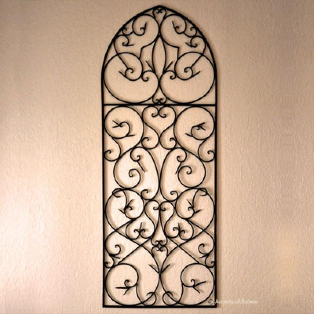 Picture Of Diy Faux Wrought Iron Wall Art Wrought Iron Wall Art Pertaining To Faux Wrought Iron Wall Art (View 12 of 20)