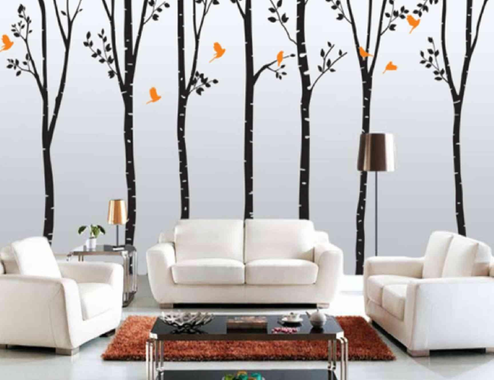 Picturesque Living Room Wall Decor Modern Designs | Inspiration Inside Wall Pictures For Living Room (Image 15 of 20)
