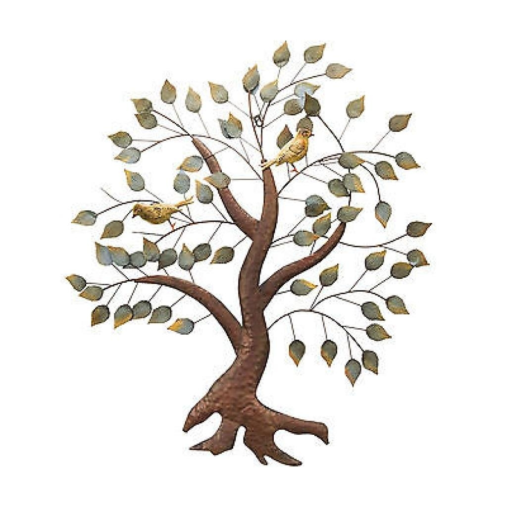 Pine Tree Metal Wall Art: Beautiful Pictures, Photos Of Remodeling For Wrought Iron Tree Wall Art (Image 7 of 20)
