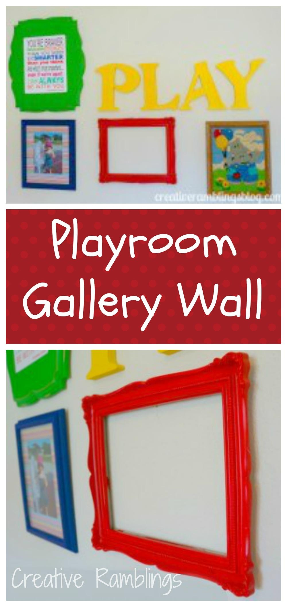 Playroom Wall Art – Creative Ramblings Within Wall Art For Playroom (View 11 of 20)