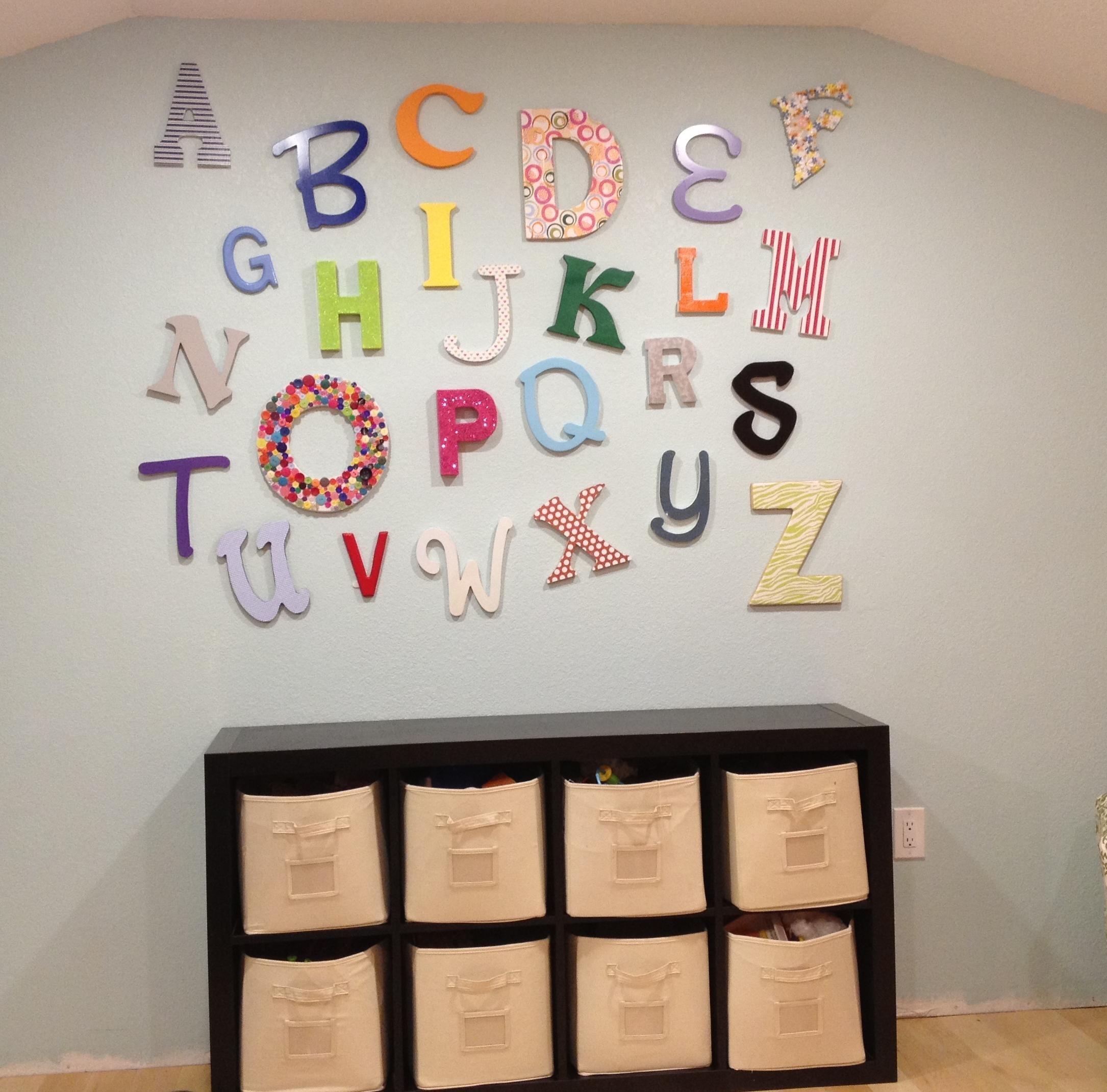 Playroom Wall Decor Ideas #12496 Regarding Wall Art For Playroom (Image 14 of 20)