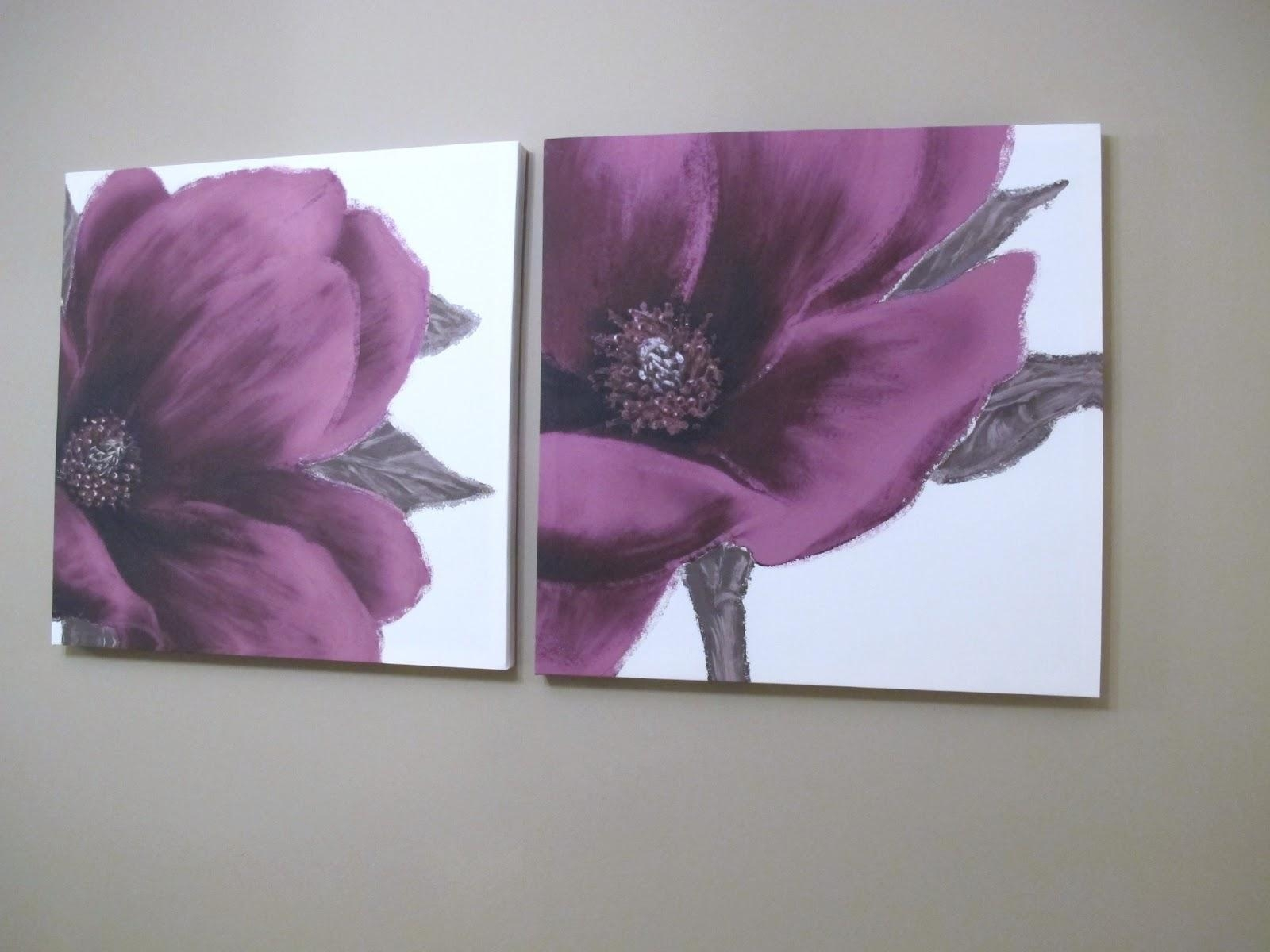 Plum Coloured Canvas Wall Art P Decal Wednesday April ~ Idolza Pertaining To Plum Coloured Wall Art (Image 16 of 20)
