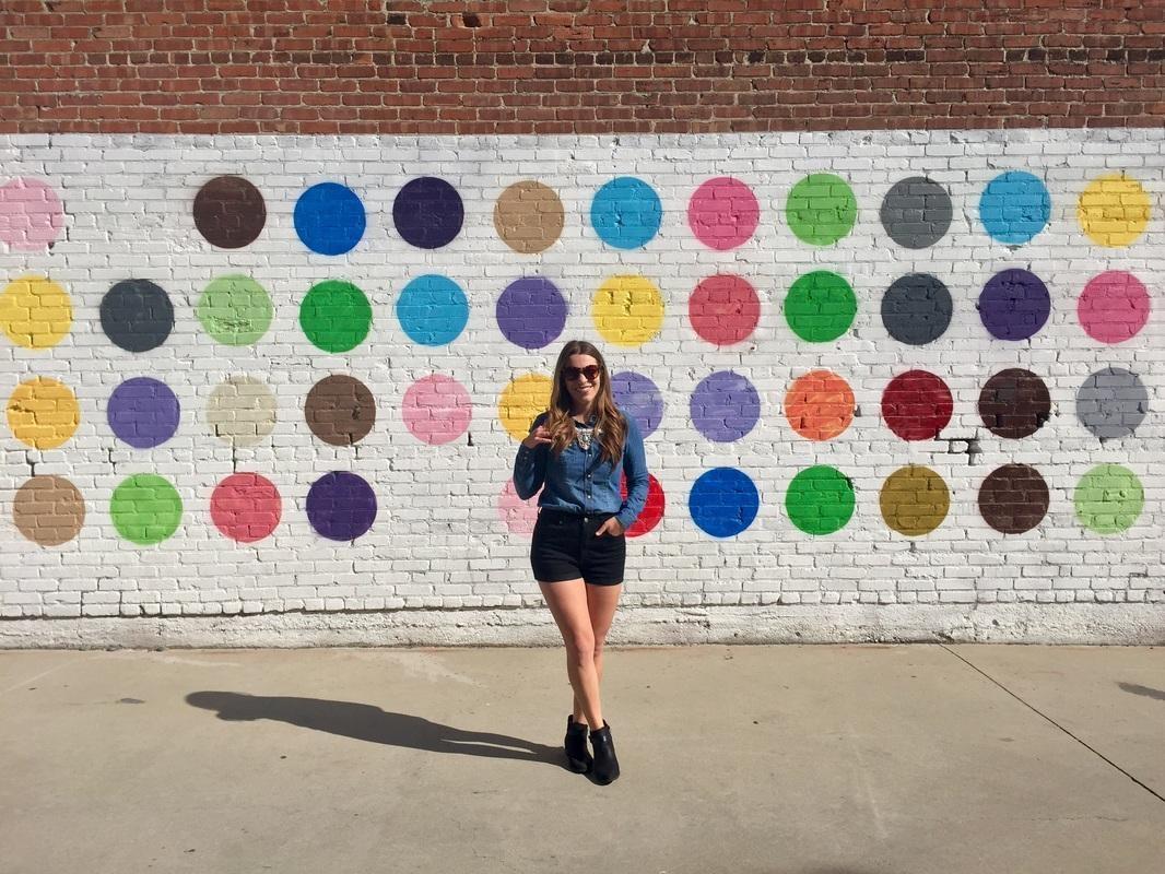 Polka Dot Wall With Los Angeles Wall Art (Image 16 of 20)