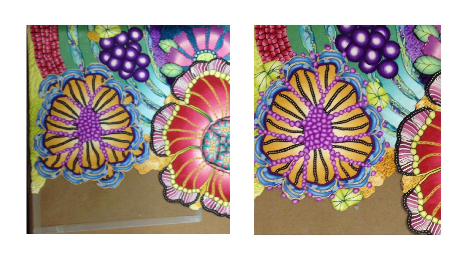 Polymer Clay Wall Art – Flowers « Polymer Clay Etc (Image 16 of 20)