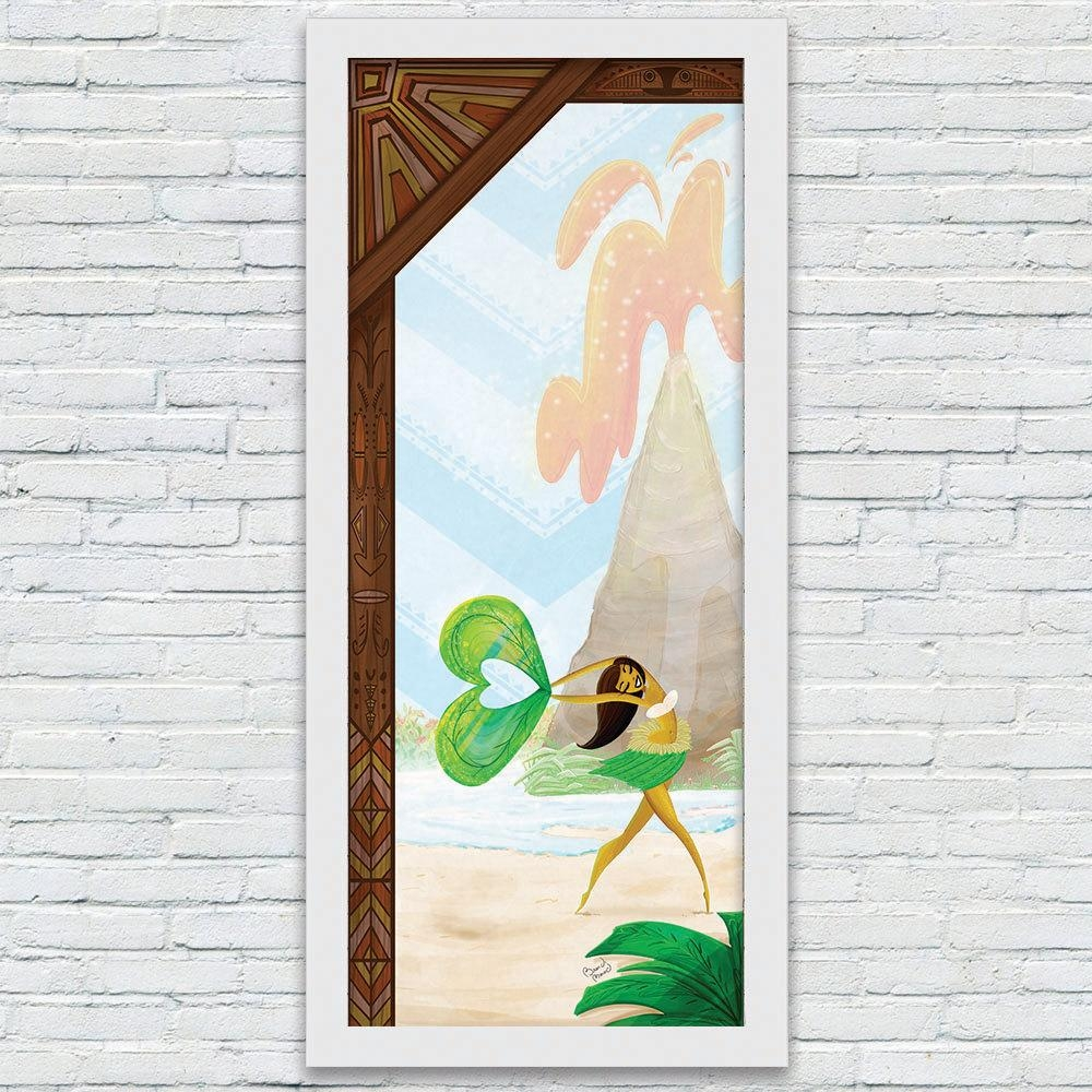 Polynesian Art Print Disney Inspired Resort Art Prints For Polynesian Wall Art (Image 8 of 20)