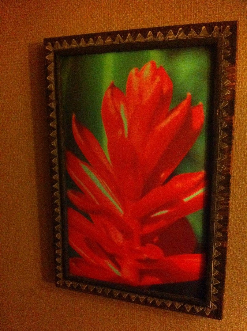 Polynesian Resort Ginger Blossom Wall Art With Polynesian Wall Art (Image 13 of 20)
