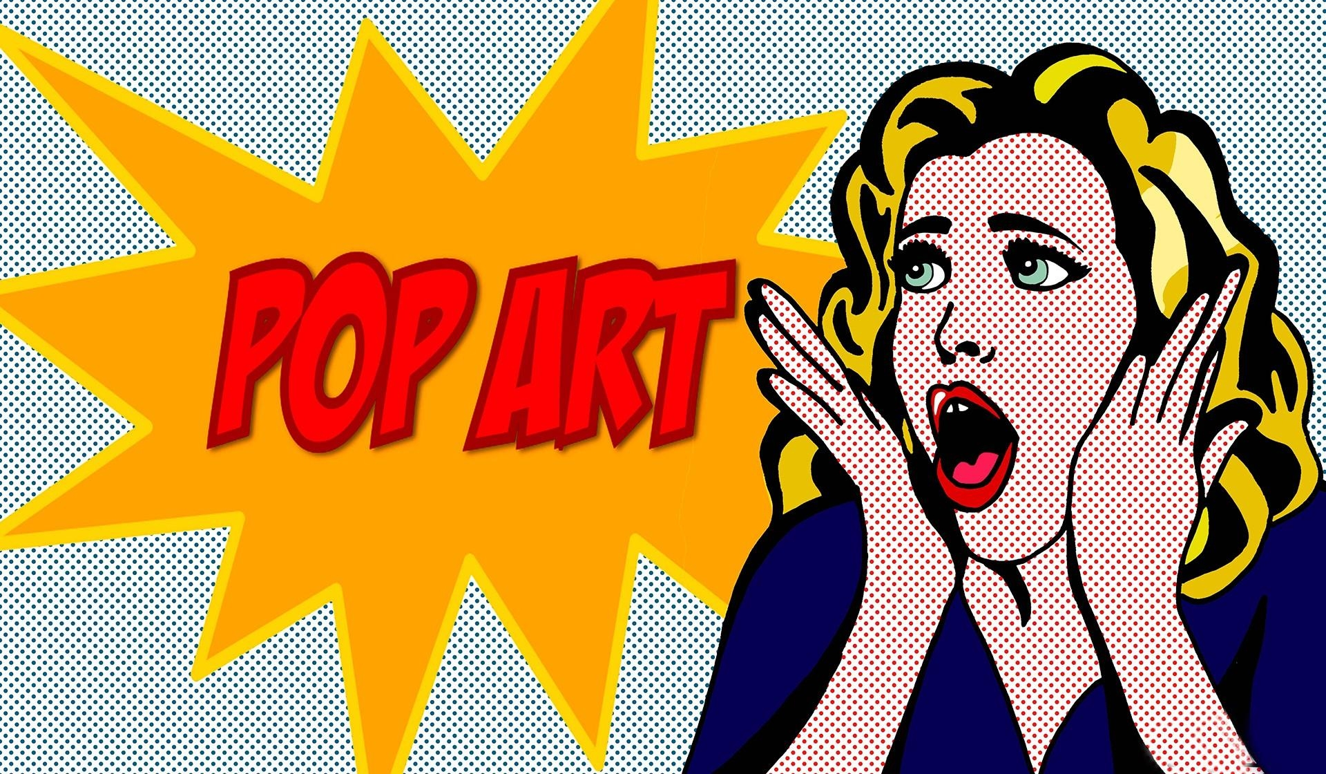 Pop Art Background ·① Download Free Cool High Resolution Pertaining To Pop Art Wallpaper For Walls (View 9 of 20)