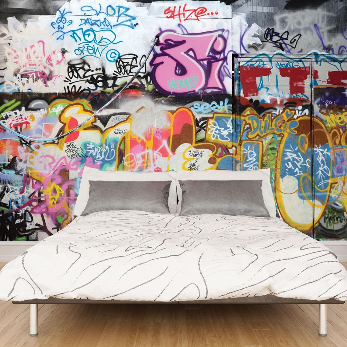 Pop Art & Graffiti | Plasticbanners Throughout Pop Art Wallpaper For Walls (Image 8 of 20)