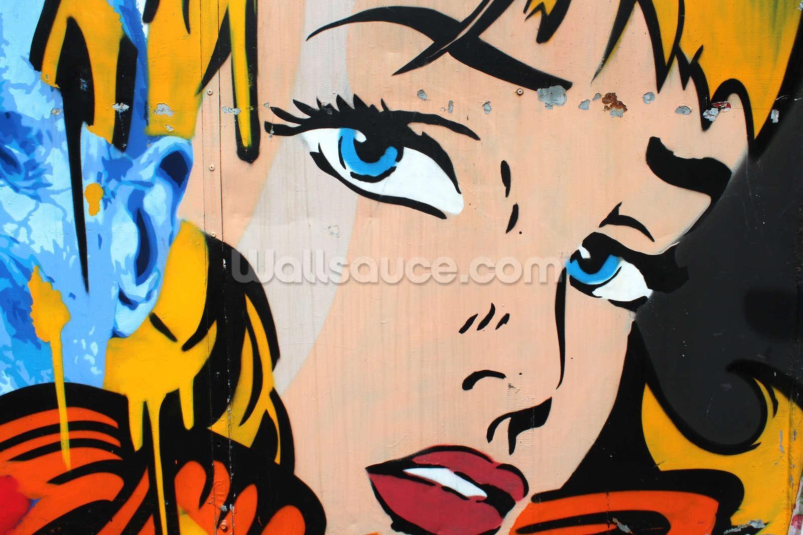 Pop Art Wallpaper Wall Mural | Wallsauce In Pop Art Wallpaper For Walls (View 6 of 20)