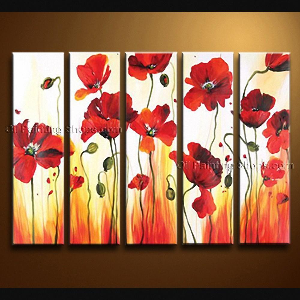 Poppy Wall Art Easy Metal Wall Art For Wooden Wall Art – Home Throughout Metal Poppy Wall Art (View 9 of 20)