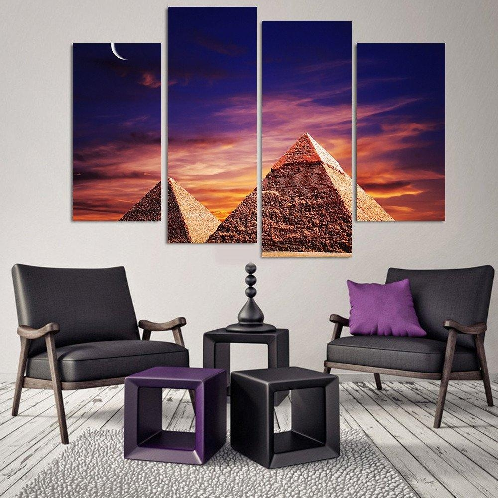 Popular 4 Piece Canvas Art Set Buy Cheap 4 Piece Canvas Art Set For 4 Piece Canvas Art Sets (Image 10 of 20)