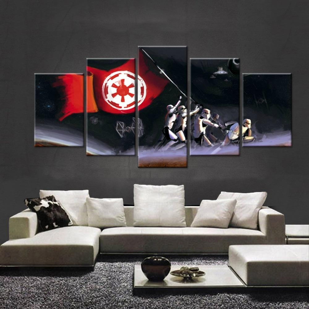 Popular 7 Piece Canvas Art Buy Cheap 7 Piece Canvas Art Lots From Inside 7 Piece Canvas Wall Art (Image 13 of 22)