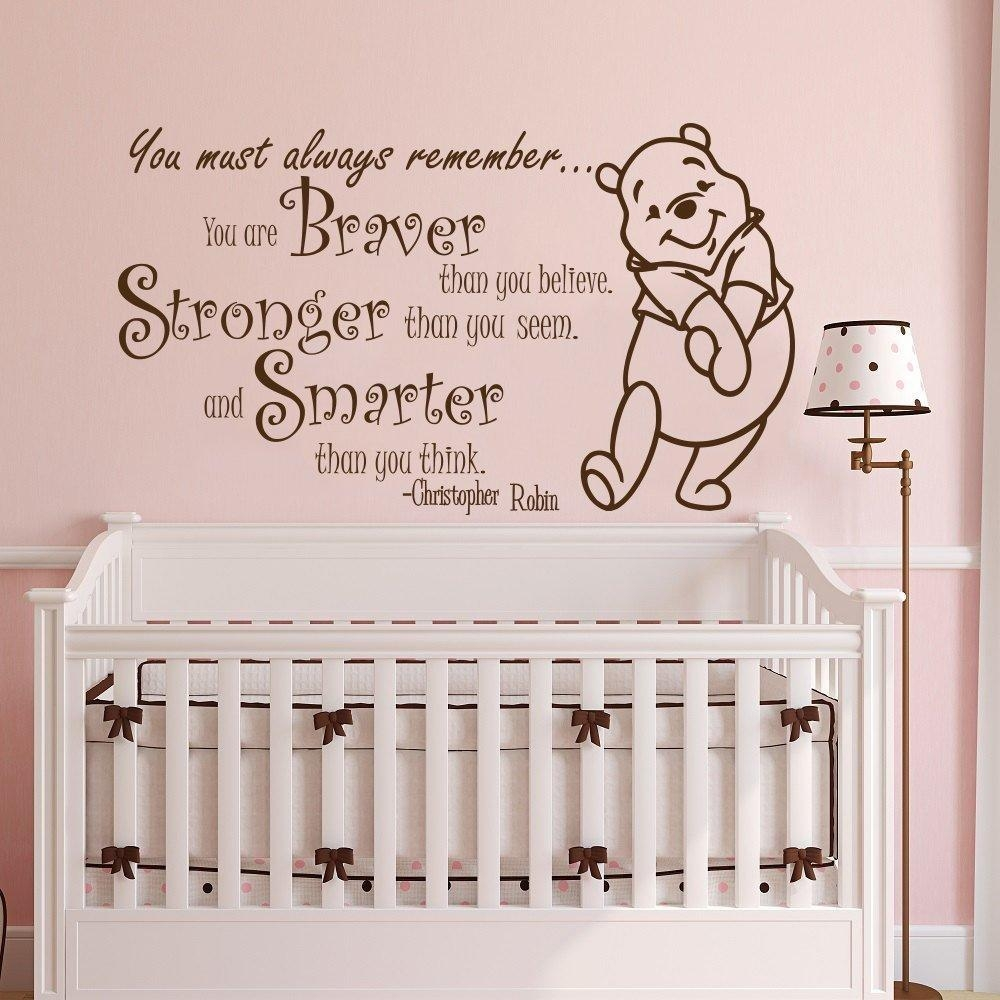 Perfect Popular Baby Rooms Nursery Buy Cheap Baby Rooms Nursery Lots From Within  Winnie The Pooh Wall