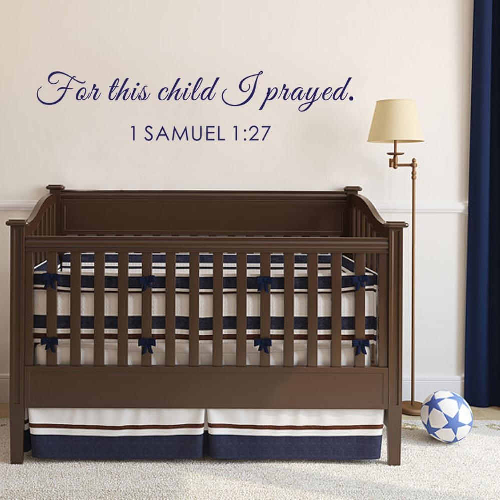 Popular Bible Verse Decor Buy Cheap Bible Verse Decor Lots From Within Nursery Bible Verses Wall Decals (Image 18 of 20)