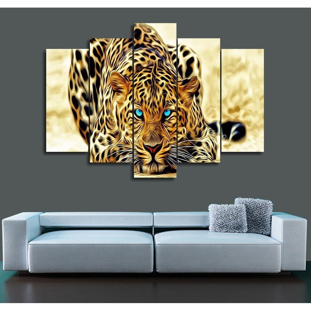 Popular Cheetah Wall Art Buy Cheap Cheetah Wall Art Lots From Regarding Animal Canvas Wall Art (View 2 of 20)