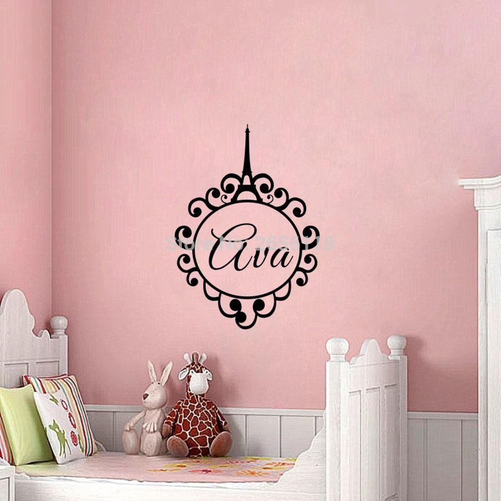 Popular Eiffel Tower Wall Art Decal Buy Cheap Eiffel Tower Wall With Regard To Paris Vinyl Wall Art (View 8 of 20)