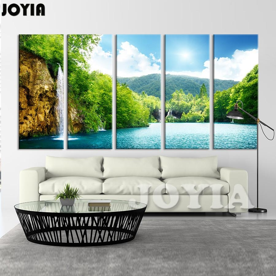 Popular Framed Waterfall Wall Art Buy Cheap Framed Waterfall Wall In Waterfall Wall Art (View 7 of 20)