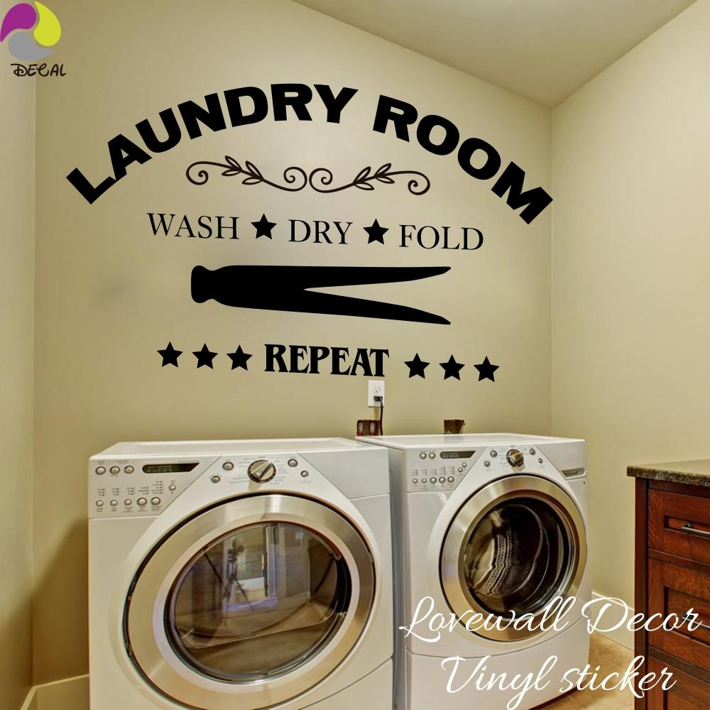Popular Laundry Room Wall Art Buy Cheap Laundry Room Wall Art Lots Pertaining To Laundry Room Wall Art (View 3 of 20)