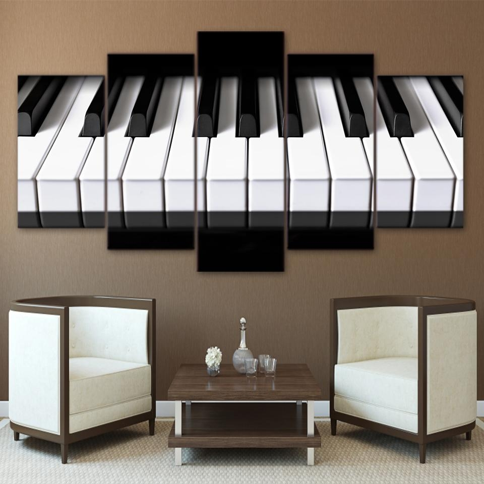 Popular Musical Instrument Picture Buy Cheap Musical Instrument Intended For Musical Instrument Wall Art (View 16 of 20)
