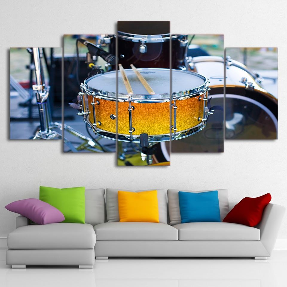 Popular Musical Instrument Picture Buy Cheap Musical Instrument Intended For Musical Instrument Wall Art (Image 16 of 20)