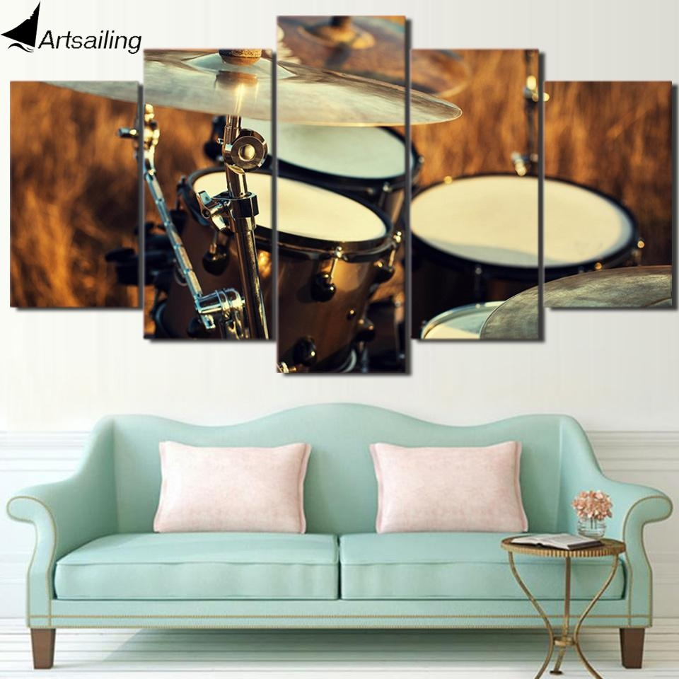 Popular Musical Instrument Picture Buy Cheap Musical Instrument Regarding Musical Instrument Wall Art (View 4 of 20)