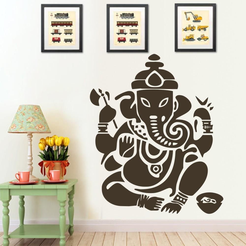 Popular Om Ganesh Wall Art Buy Cheap Om Ganesh Wall Art Lots From Within Ganesh Wall Art (View 20 of 20)