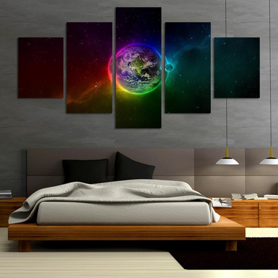 Popular Outer Space Wall Art Buy Cheap Outer Space Wall Art Lots Intended For Outer Space Wall Art (View 7 of 20)