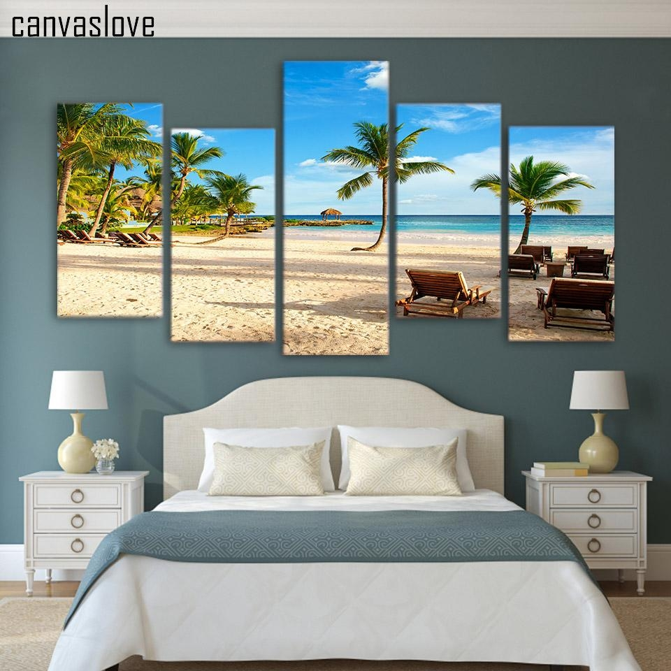 Popular Seascape Art Prints Buy Cheap Seascape Art Prints Lots With Regard To Beach Wall Art For Bedroom (View 14 of 20)