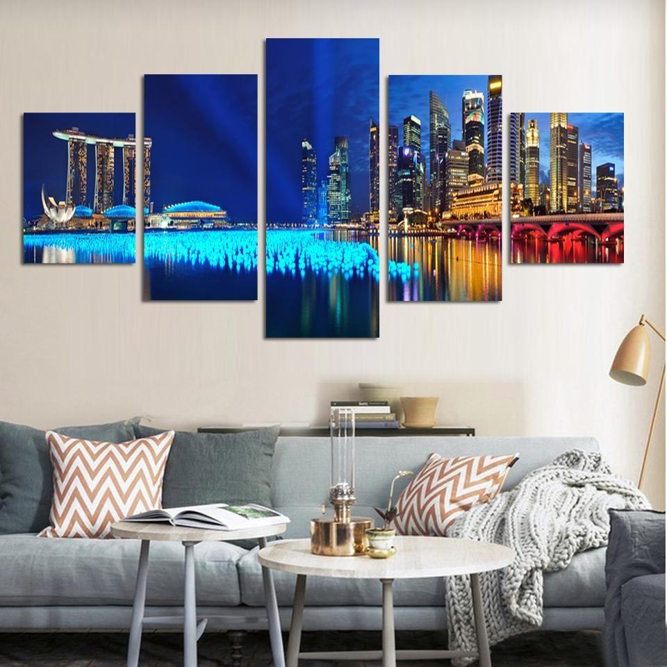 Popular Set Canvas Wall Art Buy Cheap Set Canvas Wall Art Lots Inside Cheap Wall Art Canvas Sets (Image 14 of 20)