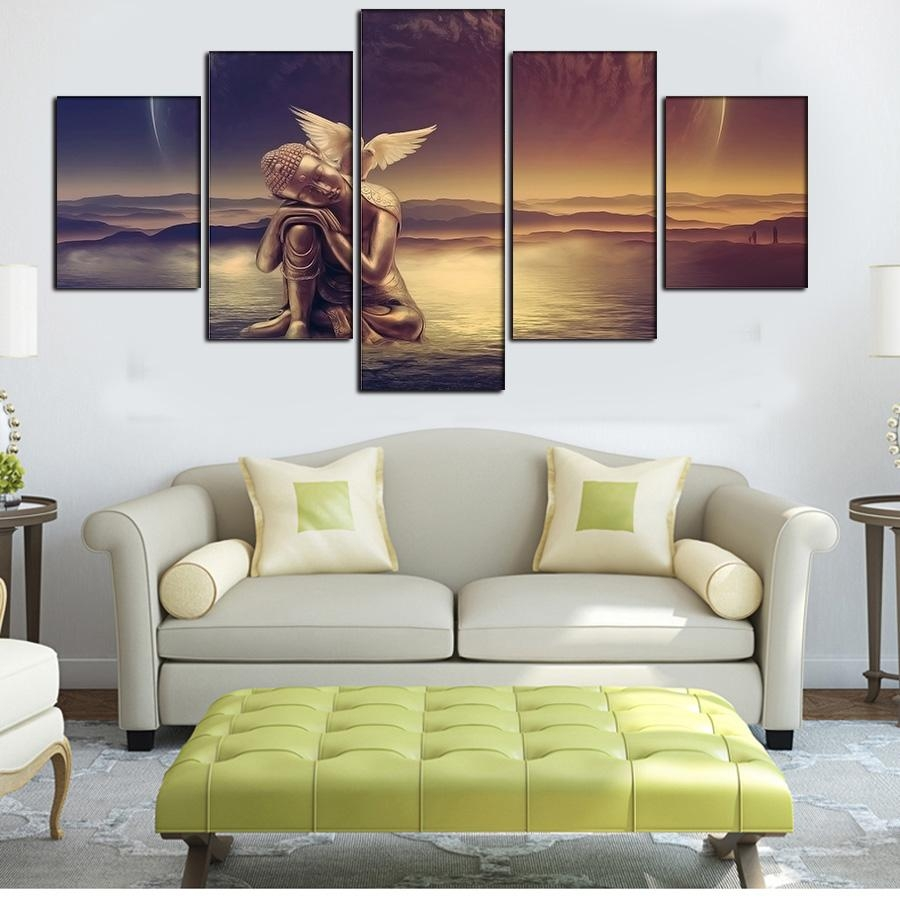 Popular Wall Art Sets For Bedroom Buy Cheap Wall Art Sets For For Wall Art Sets For Living Room (Image 7 of 20)