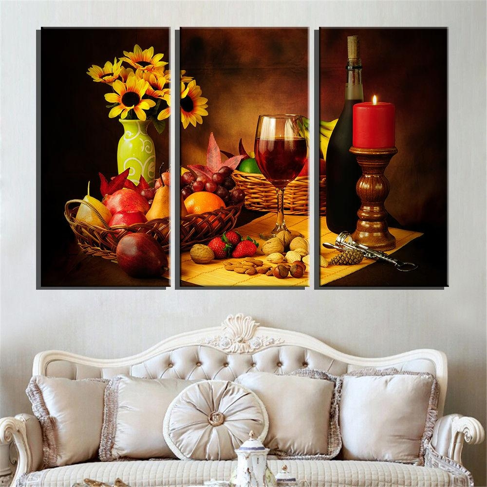Popular Wine Grape Pictures Buy Cheap Wine Grape Pictures Lots Throughout Grape Wall Art (View 20 of 20)