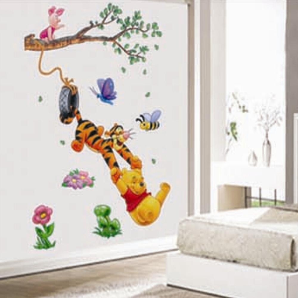 Popular Winnie Pooh Wall Stickers Nursery Buy Cheap Winnie Pooh With Regard To Winnie The Pooh Wall Art (View 9 of 20)