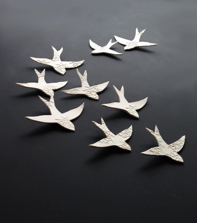 Featured Photo of Ceramic Bird Wall Art